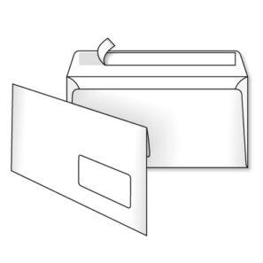 Конверт Е65 (0+0) з вікном СКЛ