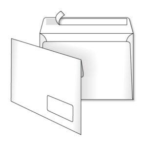 Конверт С5 (0+0) з вікном СКЛ