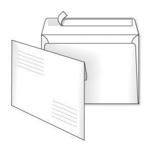Конверт С6 (1+0) СКЛ адресна сітка