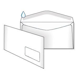 Конверт С65 (0+0) МК вікно